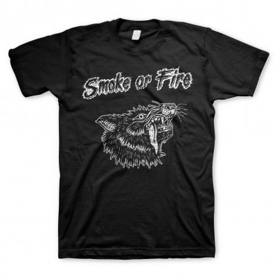 smoke-or-fire - Wolf White | T-Shirt