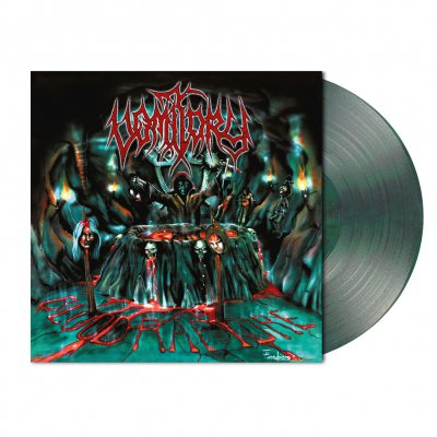 Vomitory - Blood Rapture | Clear Green/Black Marbled Vinyl
