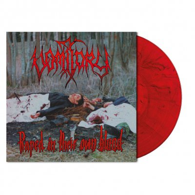 metal-blade - Raped In Their Own Blood | Red Black Marbled Vinyl