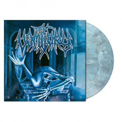 shop - Redemption | Opaque Turquoise/Black Marbled Vinyl