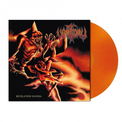 shop - Revelation Nausea | Orange/Red Marbled Vinyl