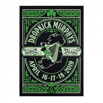 Dropkick Murphys - Dublin Event 2019 | Screen Print Poster