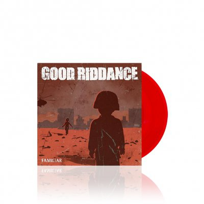 Good Riddance/Anti-Flag - Split | Trans. Red 7Inch