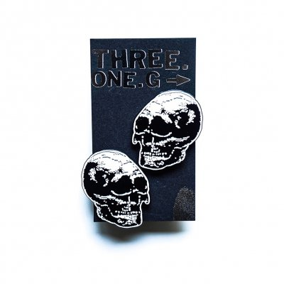 three-one-g - Skulls | Enamel Pin set