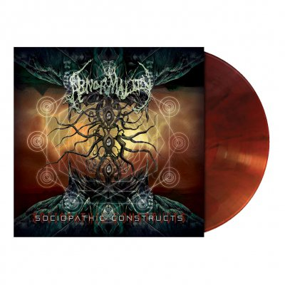 Abnormality - Sociopathic Constructs | Rootbeer Marbled Vinyl