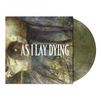As I Lay Dying - An Ocean Between Us | Olive Green Marbled Vinyl