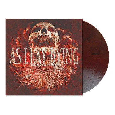 As I Lay Dying - The Powerless Rise | Dark Red Black Marbled Vinyl