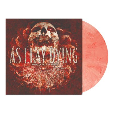 shop - The Powerless Rise | Red/White Marbled Vinyl