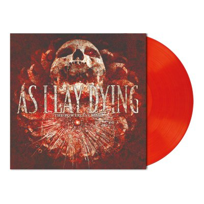 As I Lay Dying - The Powerless Rise | Luminous Orange Red Vinyl