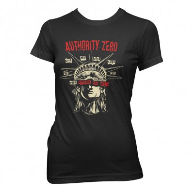 authority-zero - Persona Non Grata | Girl Fitted T-Shirt