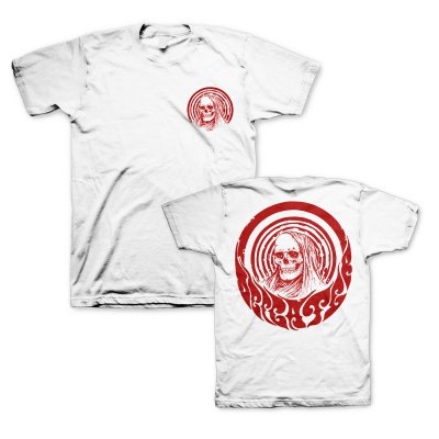 Psychodelic Skull Red | T-Shirt