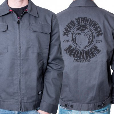 mad-drunken-monkey-records - Logo | Dickies Summer Workjacket