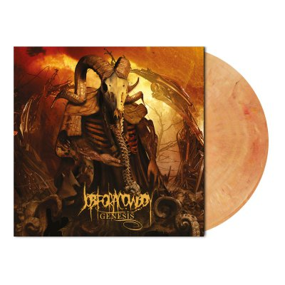 shop - Genesis | Beige/Orange Marbled Vinyl