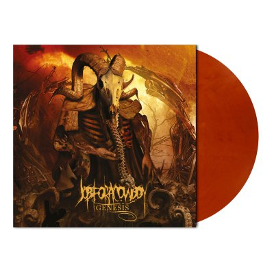 shop - Genesis | Orange/Brown Marbled Vinyl