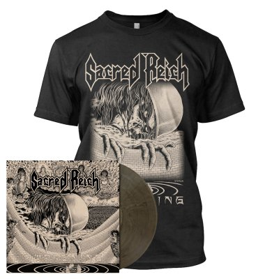 Sacred Reich - Awakening | Clear/Black Marbled Vinyl Bundle