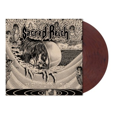 Sacred Reich - Awakening | Clear/Red-Brown Marbled Vinyl
