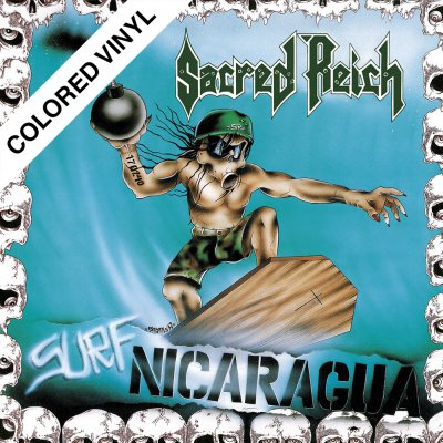 Sacred Reich - Surf Nicaragua/Alive ... | Turquoise/White Vinyl