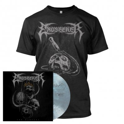 Endseeker - The Harvest | Light Grey/Blue Marbled Vinyl Bundle