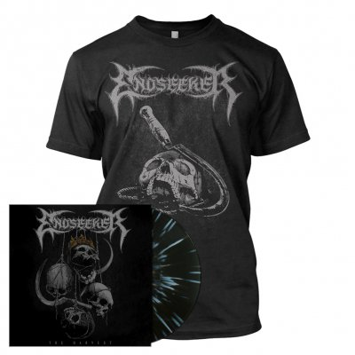 Endseeker - The Harvest | Black/White Splatter Vinyl Bundle