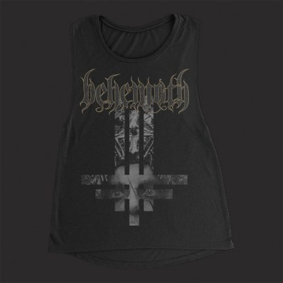 behemoth - ILYAYD Nergal Cross | Girl Fitted Tank Top