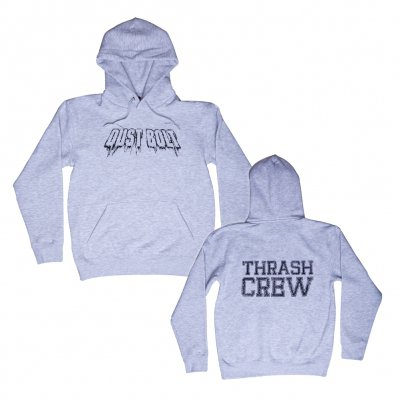 dust-bolt - Thrash Crew Grey | Hooded Sweatshirt