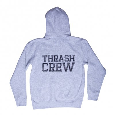 dust-bolt - Thrash Crew Grey | Hooded Sweatshirt