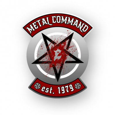 Metal Command Silver | Enamel Pin