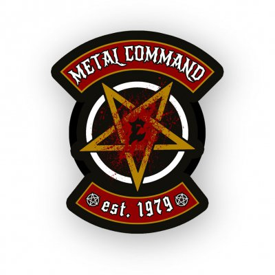 Metal Command Black | Enamel Pin