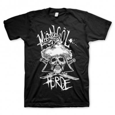 Möngöl Hörde - Skull Logo Black | T-Shirt (+Digital Download)