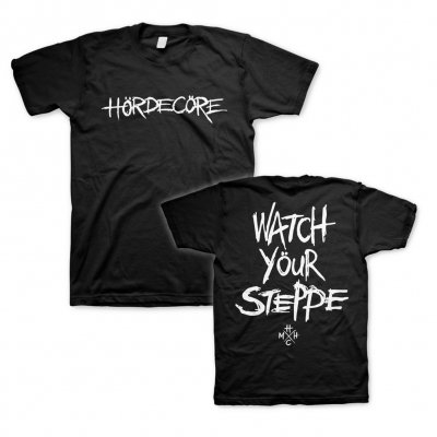 M�ng�l H�rde - Watch Your Steppe | T-Shirt (+Digital Download)