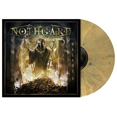 metal-blade - Malady X | Dead Gold Marbled Vinyl