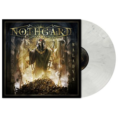 metal-blade - Malady X | Light Grey Marbled Vinyl