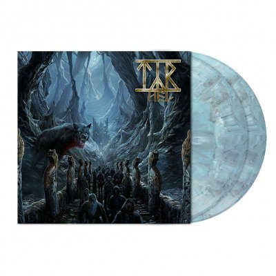 Hel | 2xSteel-Blue/Gray Marbled Vinyl