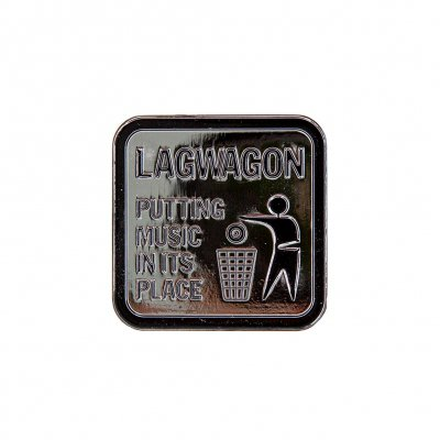Lagwagon - Putting Music | Enamel Pin