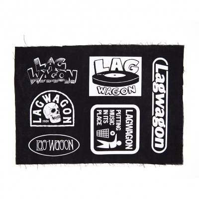 Lagwagon - Logo Sheet | Patch