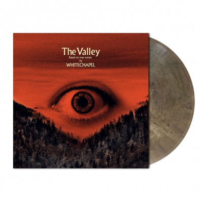 Whitechapel - The Valley | Clear-Black Marbled Vinyl