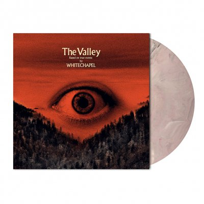 Whitechapel - The Valley | White/Orange/Red Marbled Vinyl