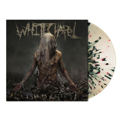 Whitechapel - This Is Exile | Clear/Black & Red Splatter Vinyl