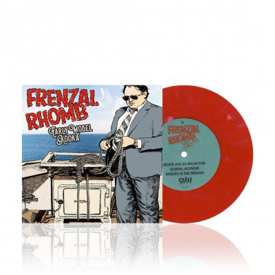Frenzal Rhomb - Early Model Kooka | Red/White Splatter 7 Inch