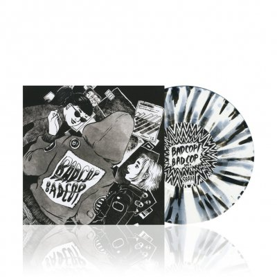 Bad Cop/Bad Cop - s/t | White/Black Splatter 7 Inch