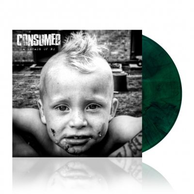 Consumed - A Decade Of No | Green Splatter Vinyl
