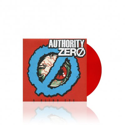 Authority Zero/Smoke Or Fire - Split | Red 7 Inch