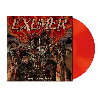Hostile Defiance | Orange Red Marbled Vinyl