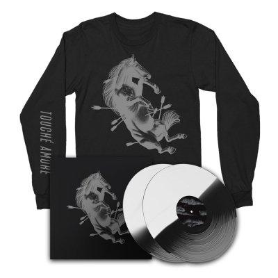Touche Amore - Dead Horse X | 2xBLK/WHT Vinyl + LS Bundle