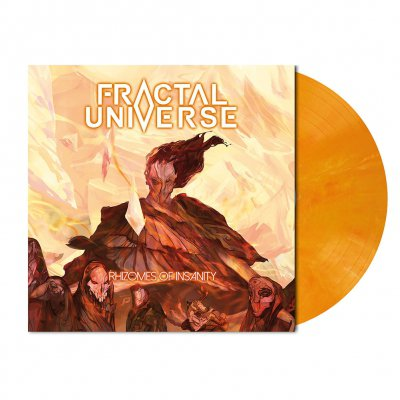 Fractal Universe - Rhizomes Of Insanity | Orange-Red Vinyl