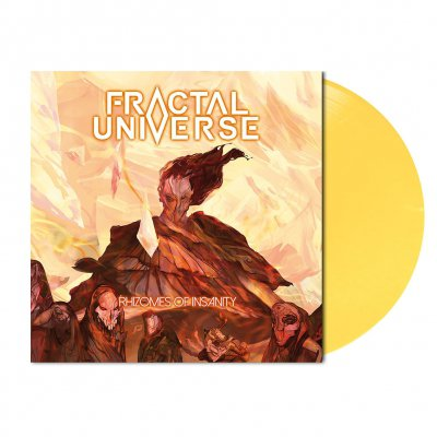 shop - Rhizomes Of Insanity | Light Yellow Vinyl
