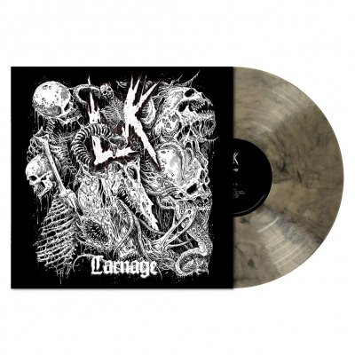 Lik - Carnage | Clear/Black Marbled Vinyl