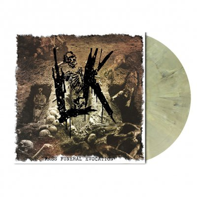 Lik - Mass Funeral Evocation | Green Beige Marbled Vinyl