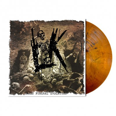 Lik - Mass Funeral Evocation | Bronze Red Vinyl