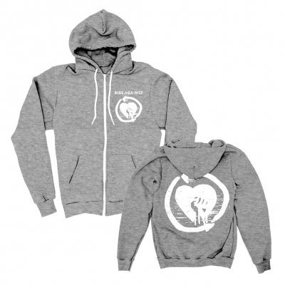 rise-against - Heart Fist | Zip-Hood